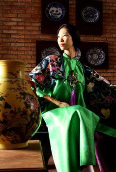 Designer: Minh Hanh.  Photo: MH. Model: Trang Pham
