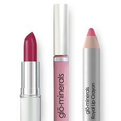 Use this color combo from glominerials lip products to create your 2014 Pantone Color of the year look ... Radiant Orchid Lipstick in Tresure, Lipgloss in Lilac Luster and Royal Lip crayon in Imperial Pink. {glominerals lip stick, Lip gloss,royal lip crayon}