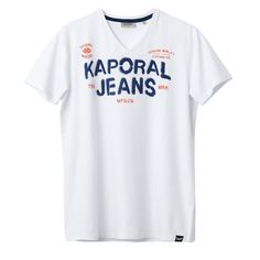 Teef T-Shirt KAPORAL 5 : price, reviews and rating, delivery. Fabric content & details:Main fabric: 97% cotton, 3% polyesterBrand: Kaporal®Care advice: Please see care instructions on clothing label.