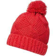 Dorothy Perkins Red Boucle Beanie (75 DKK) ❤ liked on Polyvore featuring accessories, hats, red, beanie hat, red beanie, red hat, beanie cap and dorothy perkins