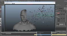 Using Ncloth/Nmesh for Motion Graphics in MayaComputer Graphics & Digital Art Community for Artist: Job, Tutorial, Art, Concept Art, Portfolio
