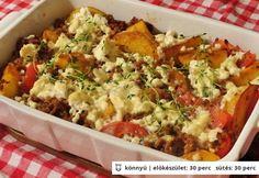 Csőben sült burgonya görög módra