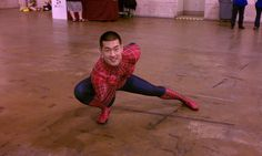 Day 2 - The Sexiest Spiderman Ever! IMHO