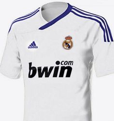 Camiseta del Real Madrid 2012