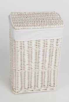 1000 Images About White Wicker Laundry Basket On