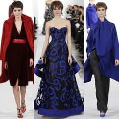 Oscar de la Renta Fall-Winter 2014 New York Fashion Week http://berrytrendy.com/2014/02/12/new-york-fashion-week-2014/
