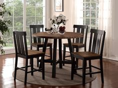 Giannini 5 Piece Counter Height Dining Set