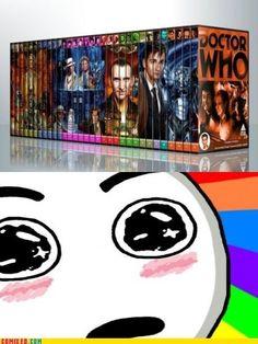Doctor Who Fan Dream  See more funny pics at killthehydra.com!