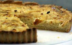 Tarta de Cebolla #tartas #recetas #cebolla