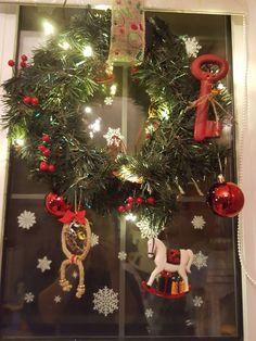 My diy Christmas wreath 🎄