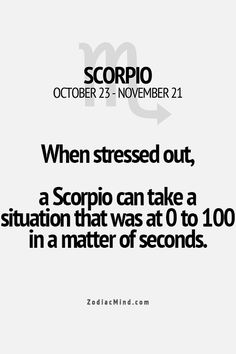 Zodiac Mind - Your source for Zodiac Facts Scorpio Traits, Zodiac Signs Scorpio, Scorpio Horoscope, Scorpio Quotes, Zodiac Mind, My Zodiac Sign, Astrology Signs, Zodiac Facts, Gemini