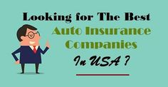 Auto Insurance Companies - USA in Business Companies In Usa, Insurance Companies, Best Insurance, Business, Blog, Blogging, Store, Business Illustration