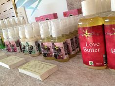 Fair with our organic products for love and lust!