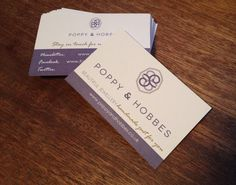 Our new contact cards!
