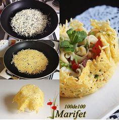 100de100 Marifet: Çıtır Peynir Kasesinde Makarna Salatasi