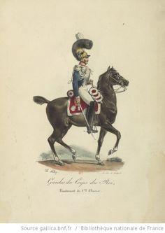 [Maison du Roi et garde royale de Louis XVIII, 1817.] / Ch. Aubry - 6