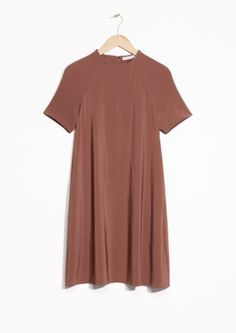 & Other Stories image 2 of A-Line Dress  in Brown