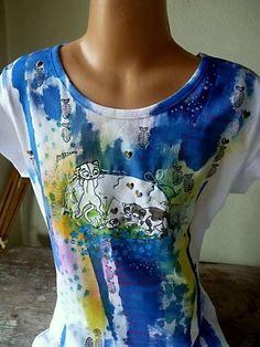 Vytvořte si s dětmi krásné tričko s kočičím motivem.
