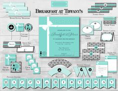 Holly Golightly Package Birthday Party Bridal by xxPepperAvenuexx