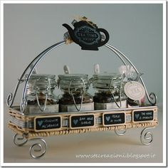 Cute! ~ lovely loose leaf tea caddy