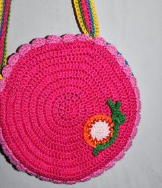Crochet bag for your little girl