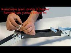 Montaggio kit bifolding - Installation bifolding kit - YouTube