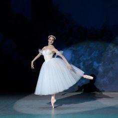Angelina Vorontsova in Les Sylphides with the Kremlin Ballet.    Photo© Valeria Komissarova.