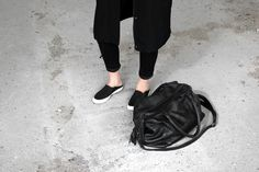 Black outfit - bag by byBurin