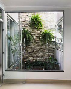 Balcony garden indian 37 ideas for 2019 - Modern Atrium Design, Courtyard Design, Backyard Garden Design, Garden Landscape Design, Balcony Garden, Landscaping Design, Garden Landscaping, Indoor Courtyard, Internal Courtyard