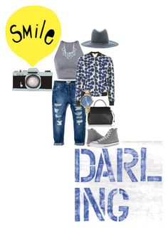 """""""Untitled #25"""" by sammy-skuse on Polyvore featuring MANGO, Janessa Leone, Topshop, Lanvin, Converse and Marc Jacobs"""