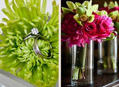 Pink and Lime wedding ideas