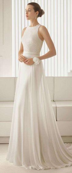 Vestidos de novia 2014: Fotos de diseños sencillos para una boda civil  (28/39) | Ellahoy