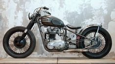 Triumph Bobber by Wrenchmonkees #motorcycles #bobber #motos | caferacerpasion.com