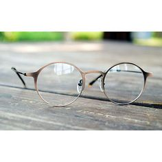 1920s Vintage Classic Eyeglasses Oliver retro 58R27 Brown Fashion eyewear Frames
