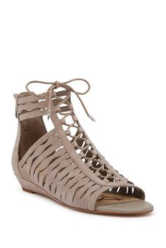 356ef3b4296 Image of Sam Edelman Daleece Lace-Up Sandal Flat Sandals