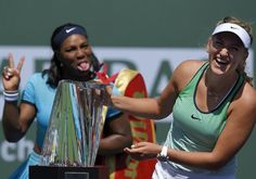 In their play and their words, Vika and Serena had the perfect answer to an attack on the WTA. (AP)