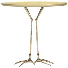 Traccia table from the Ultramobile collection by Meret Oppenheim