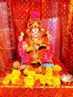 Ganesha shrine in Mumbai, India