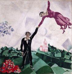 The Promenade 1918: Marc Chagall 1887-1985