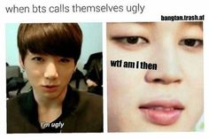 WELL I MUST BE A FLIPPING UGLY ASS POTATO BECAUSE JEON JEONGGUK YOURE BEAUTIFUL