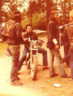 Bikers There's my bad boys  70'S