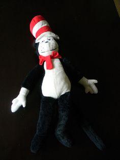 "29"" DR SEUSS CAT IN THE HAT 1995 Macy's East PLUSH STUFFED ANIMAL TOY RARE #Macyseast"