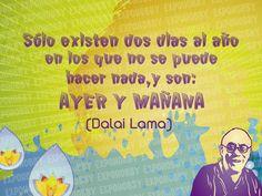 #BuenJueves #Ayer #Mañana #EsHoy #Cree #Soña #Crea #VosPodes #FrasesExpohobby