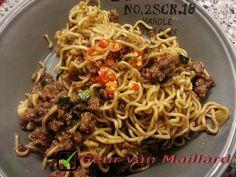 Spicy noodles - Geur van Maillard