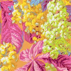 Free Spirit Fabrics Kaffe Fasset Fabrics Spring 2017 Collective Yellow Horse Chestnut