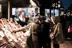 Scène de rue sur la passante Oxford Street   © Mathieu Belay