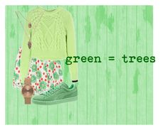 """""""green #1"""" by lallushka on Polyvore"""