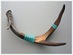 Jewelry OFF! antler deer sheds shed diy craft hanger hook coat jewelry organization decor paint design Deer Skulls, Cow Skull, Animal Skulls, Deer Antlers, Skull Art, Antler Crafts, Antler Art, Antler Jewelry, Painted Antlers