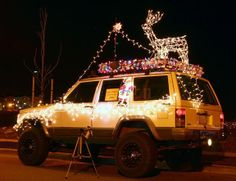 jeep people like to do jeep things like decorate their jeeps - Jeep Christmas Decorations