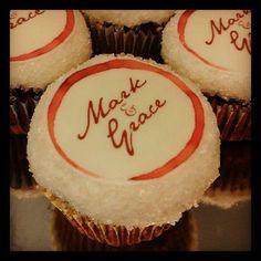 Wine Stain Cupcakes